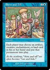 SHOW AND TELL Urza's Saga MTG Blue Sorcery RARE