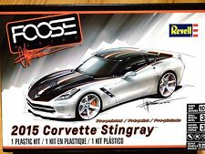 Revell monogram 1:25 2015 corvette stingray foose design modèle de voiture kit