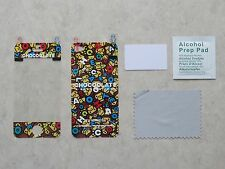 Colorful Iphone 4/4S LCD Screen Protector Film - Package of 2 sets (can choose)