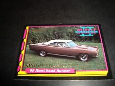 Muscle Cars II #KH4 1993 King Of The Hill INSERT TRADING Card 1969 Road Runner