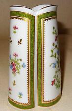 Vase porcelaine Haviland Limoges décor vieux Paris vert état parfait