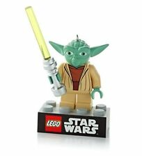 2014 Hallmark LEGO STAR WARS Ornament YODA *Priority Shipping*