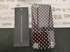 FRENCH CONNECTION Hard Case GEO PRINT Clip-on Back Cover For Apple iPhone 5 5s
