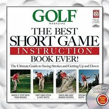 Golf: The Best Short Game Instruction Book Ever!-ExLibrary