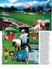 PUBLICITE ADVERTISING  1995    EVIAN  eau minérale  LES MASTERS