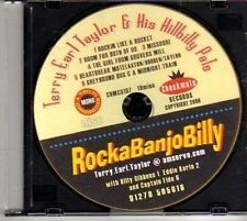 (CK133) Terry Earl Taylor & His Hillbilly Pals - 2006 DJ CD