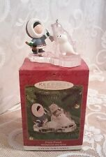 Hallmark 2000 Frosty Friends Ornament Twenty-First in Series in EUC !