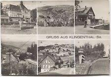 (215)  Ak  Gruss aus 08248 Klingenthal      Vogtland   Musikwinkel