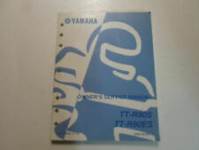 2004 Yamaha TT-R90S TT-R90ES Owners Service Repair Manual FACTORY OEM 04 STAINED