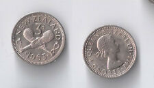 New Zealand threepence 1963