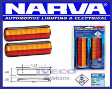Narva 93812BL2 LED Trailer Slimline Stop/Tail and Indicator Lights Multi Volt
