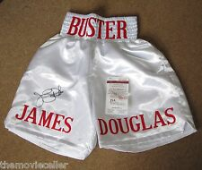 BUSTER DOUGLAS SIGNED BOXING SHORTS JSA CERTIFIED AUTHENTIC EBAY APPROVED