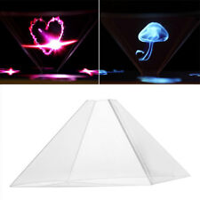 """3D Holographic Hologram Display Projector Video For 3.5-6.5"""" Mobile Smart Phone"""