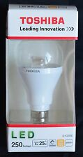 "*** 10x toshiba LED-ampoules ""LDGC 0627 ce 4 formationsprofessionnelles"" blanc chaud e14 6w = 25w NEUF ***"