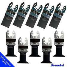 10 Bi-metal Saw Blade Oscillating Multi Tool Fein Black and Decker DeWalt B