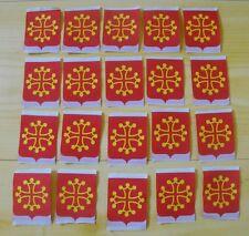 Lot 20 insigne écusson tissu patch scout scoutisme Province Midi-Pyrénées