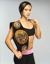 Michelle Waterson UFC 11x14 Photo The Karate Hottie Picture w/ Invicta FC Belt 5