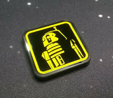 Imperial Assault compatible, acrylic 'droid 2' token x 1