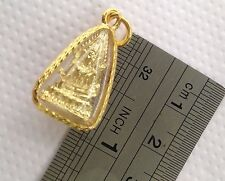HOLY BUDDHA SACRED FRIENDSHIP GOOD LUCK LOVE & PROTECTION AMULET PENDANT (08)