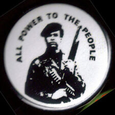 30 HUEY P. NEWTON - ALL POWER TO THE PEOPLE  pinback buttons badges 1.25""