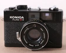 Konica Auto S3 Rangefinder Camera Hexanon 38mm F1.8 Lens - See Details!