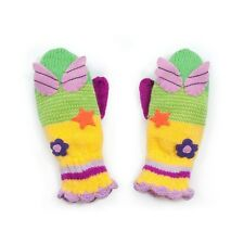 Promo Kidorable Knitted Woodland Fairy Mitten Childrens Childs Gloves Knitwear