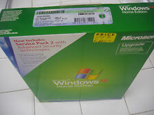MICROSOFT WINDOWS XP HOME UPGRADE w/SP2 MS WIN =NEW SALED RETAIL BOX=
