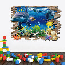 Removable 3D Finding Nemo Wall Sticker Art Decal Mural Kids Bedroom Home Decor