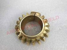 NEW ROYAL ENFIELD 350cc BRASS EXHAUST PIPE COOLING RING FIN HEAT SINK NUT