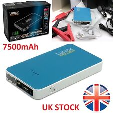 LUNEX 7500mAh 12V Car Jump Starter Pack Booster Charger Battery Power Bank