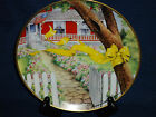 collector's plate HOME COMING by Maureen Drdak-Jensen (Tie a Yellow Ribbon)
