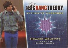 """Big Bang Theory Season 5 - M28 """"Howard"""" Wardrobe Card"""