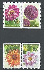˳˳ ҉ ˳˳SW33 Sweden Sverige Complete set 2013 Different Forest Spring Flowers