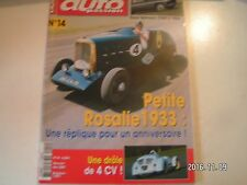 **a Auto Passion n°14 Salmson 2300 S 1954 / Peugeot 403 pick up 1964
