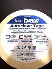 "Defend Autoclave Tape 1"" 60YD Per Roll Dental #At-2003 Sterilizer Indicator"