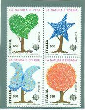 EUROPA CEPT - ITALY 1986 Nature Trees Alberi