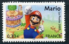 STAMP / TIMBRE FRANCE NEUF N° 3847 ** HEROS DES JEUX VIDEO / MARIO LE PLOMBIER