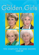 Golden Girls: Complete Second Season - 3 DISC SET (2016, REGION 1 DVD New)