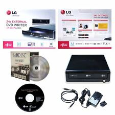 LG GE24NU40 External Portable 24X MDisc CD DVD RW DL Drive Burner USB 2.0 PC/MAC