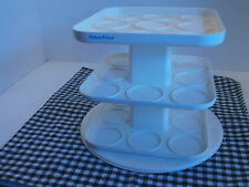 Fisher Price Baby Food Holder 3 rotating shelves