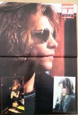 JOHN BON JOVI video shoot Kerrang Centerfold magazine POSTER  17x11 inches