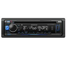KENWOOD KDC-MP368BT IN-DASH CD MP3 USB BLUETOOTH IPOD CAR STEREO RADIO RECEIVER