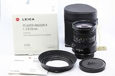 *EXC+* Leica PC-Super-Angulon-R 28mm f2.8 1:2.8/28 R6 R6.2 R8 R9 M240 DMR MP SL