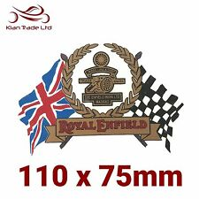 1x Royal Enfield Union Jack Sticker Sticker - Tool Box, Mud Guard, Fuel Tank