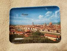 """Small Plate FIRENZE 6 """" x 4 """" Made in Itay Mebel 67"""