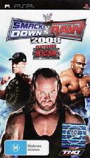WWE SMACKDOWN VS RAW 2008 PSP NEW *ORIGINAL COVER* AUS EXPRS