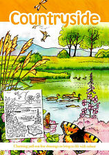Countryside Adult Colouring Book (New Country Rural Landscapes Mindfulness P/B)