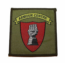 Armour Centre Bovington Tactical Recognition Flash TRF Badge (Tank School tf135