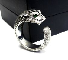 Sandaman Edition Panther Silver Ring With Black Diamonds by Sacred Angels