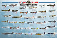 Jigsaw puzzle Airplane Fighters of World War 2 WW2 1000 piece NEW made in USA